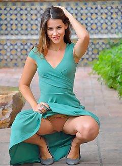Dress Upskirt Pics