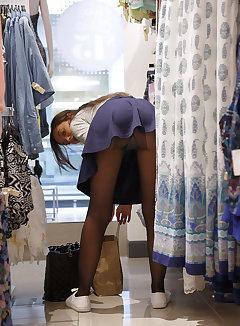 Upskirt Shopping Pics